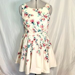 Lauren Conrad spring tea time dress